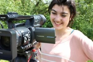 Lotte on Camera 2