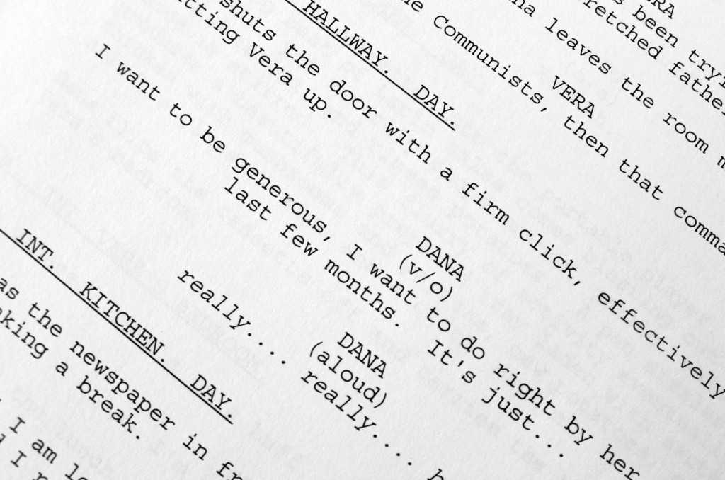 Introduction to Screenwriting Film Oxford