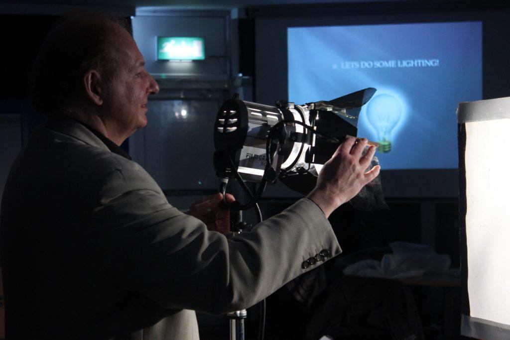 Film Oxford Lighting Workshop with Graham Reed