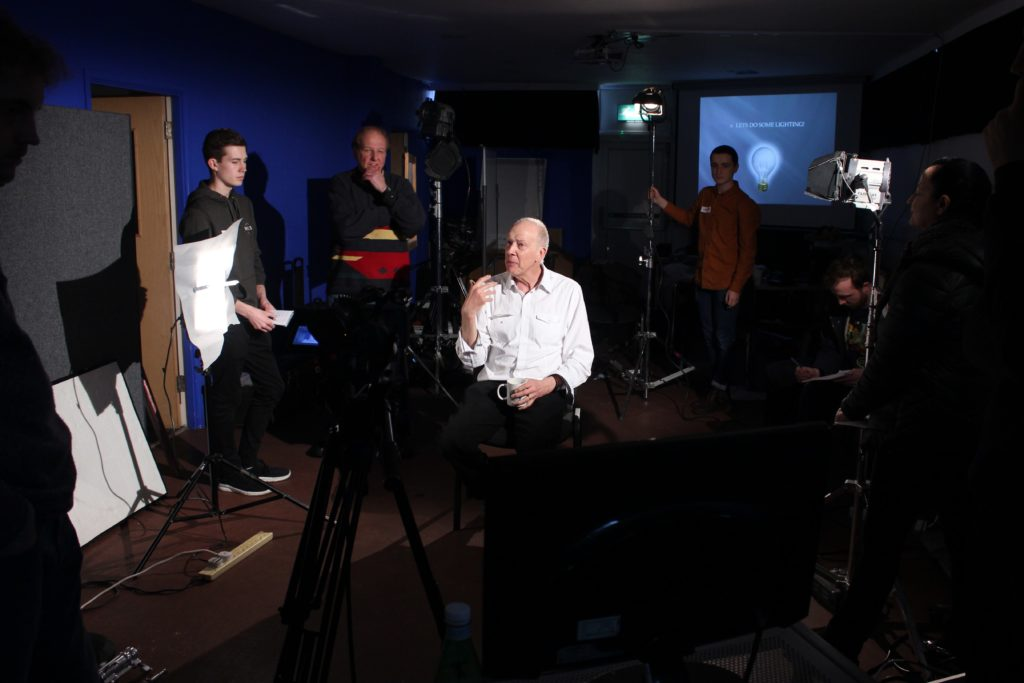 Film Oxford Lighting Workshop with Graham Reed