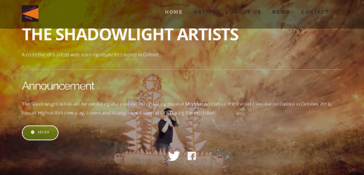 Shadowlight artists website screengrab