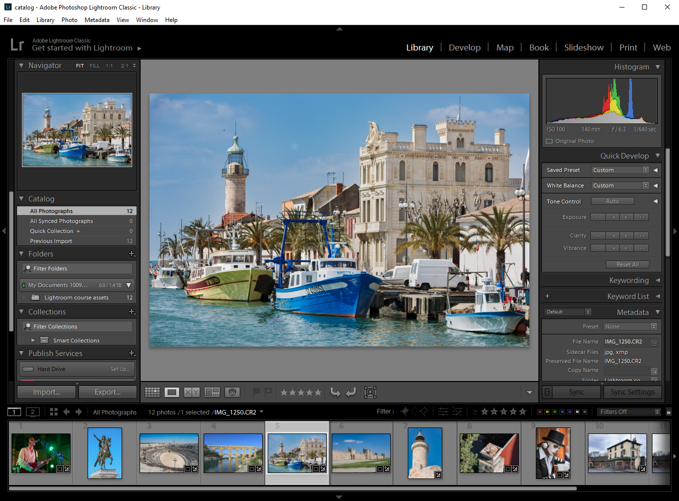 Introduction to Adobe Lightroom Classic - Film Oxford