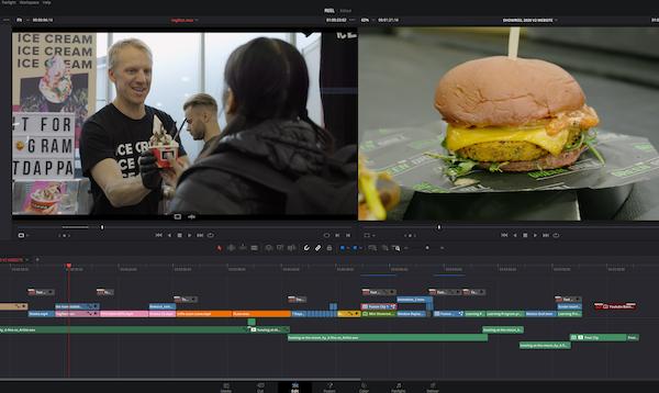 Davinci Resolve - online course - video editing - Film Oxford