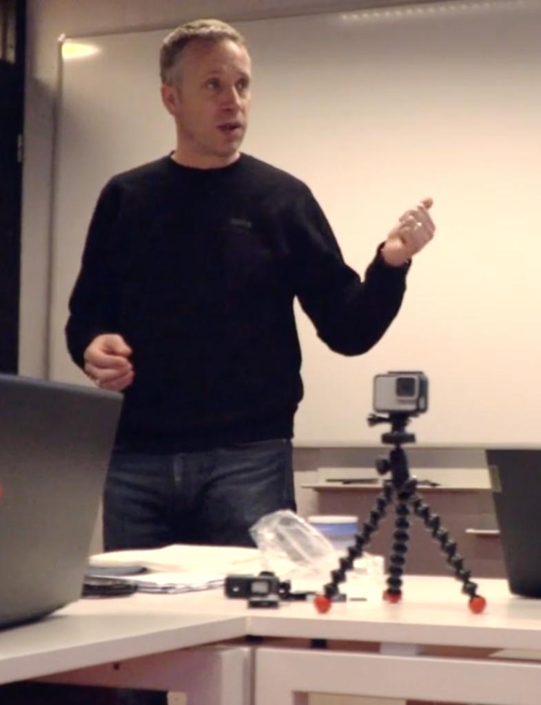 John Hunt, Film Oxford Tutor - Shooting for Socail Media