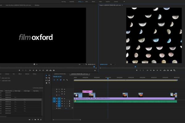 Film Oxford Adobe Premiere weekend course